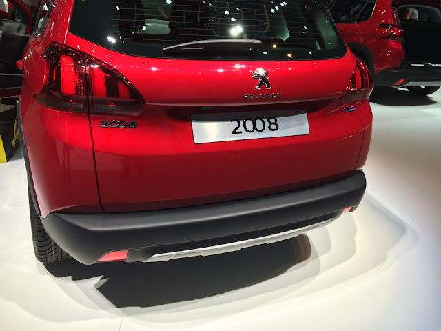Nouveau Peugeot 2008 arrière