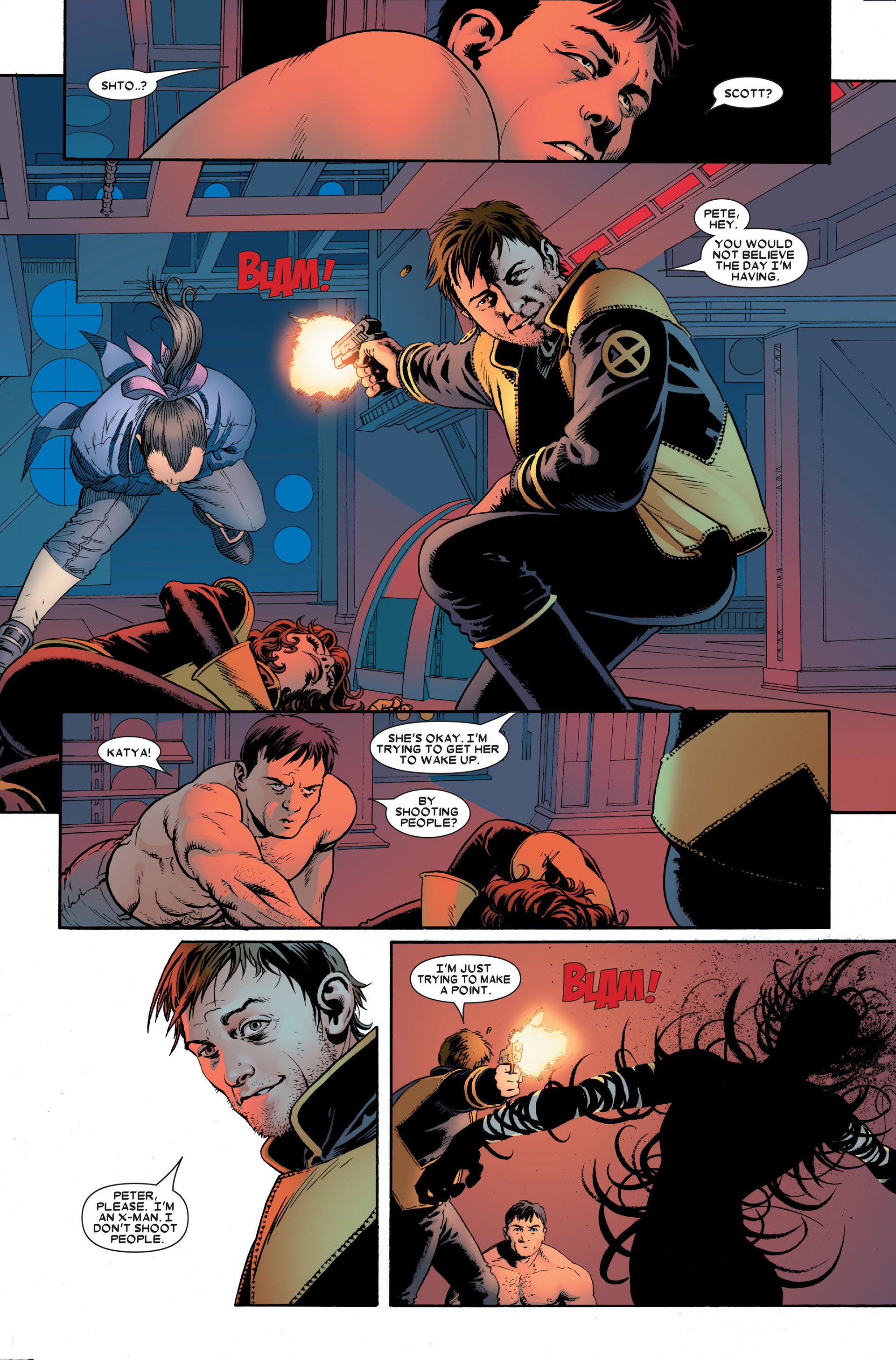 Read online Astonishing X-Men (2004) comic -  Issue #18 - 8