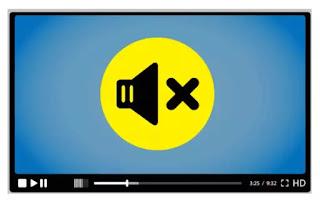 togliere audio da video