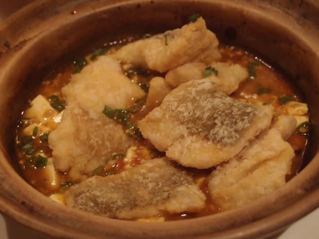 麻婆豆腐鲜鱼煲