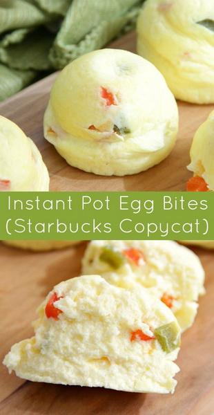 Instant Pot Egg Bites (Starbucks Copycat)