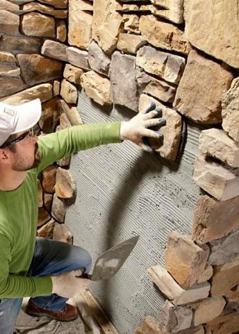 Gạch giả đá - Sản phẩm mới ấn tượng trong ngành Vật liệu xây dựng