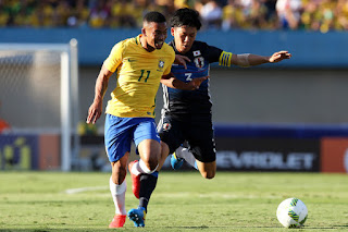 Japan vs Brazil live stream Friday 10 November 2017 Friendly Match