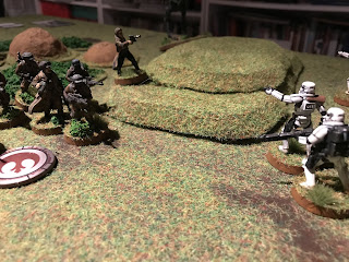 Han breaks cover to shoot first!