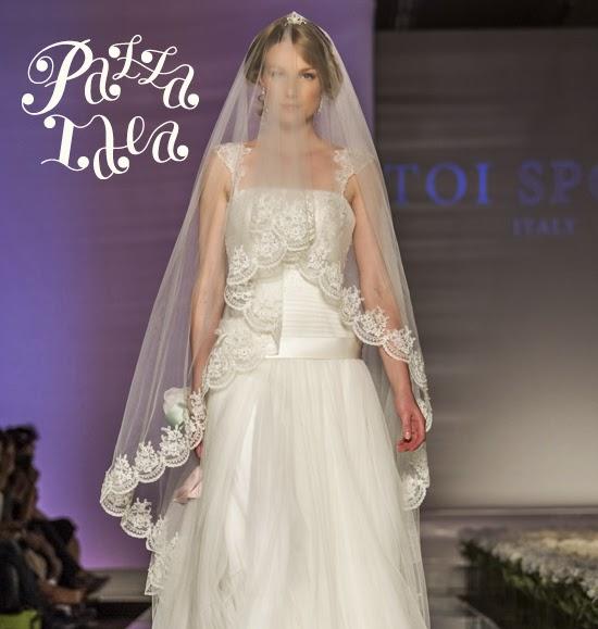 9e4e953c2b7d Pazza Idea  Abiti da sposa 2015 a Sì Sposa Italia Collezioni  Toi Spose