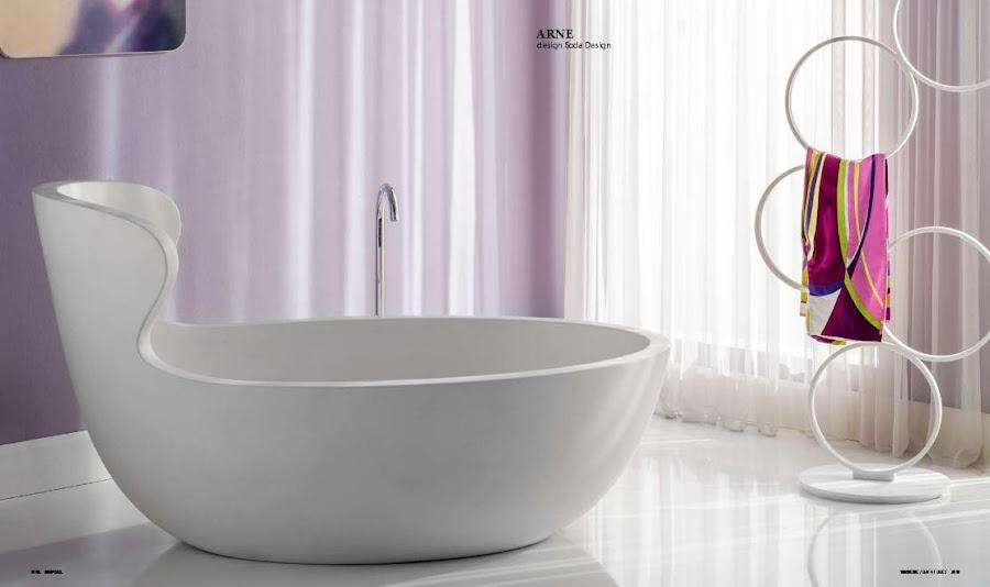 materiales de fábrica bañera de diseño
