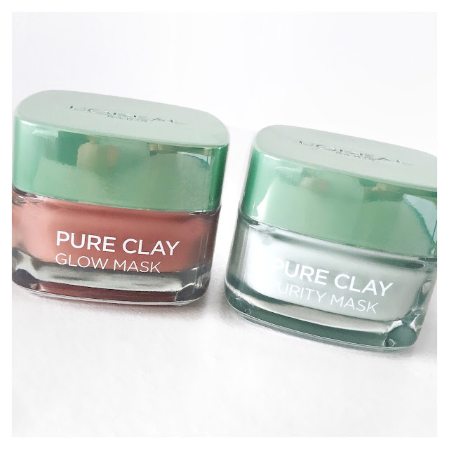 l'oreal face mask glow purity