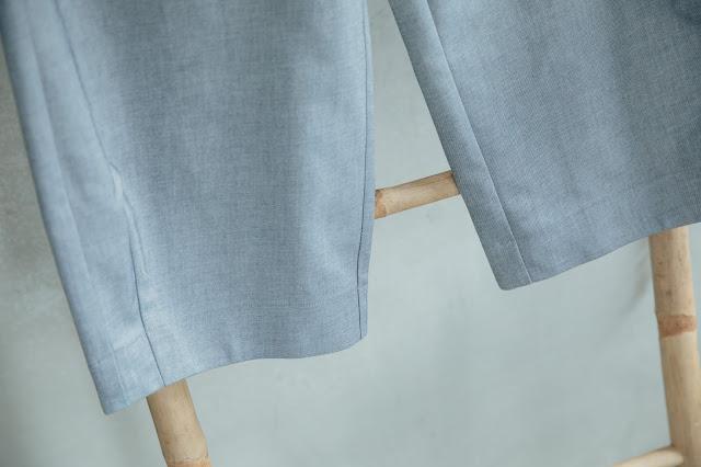 放空假期雙蓋口袋造型褲