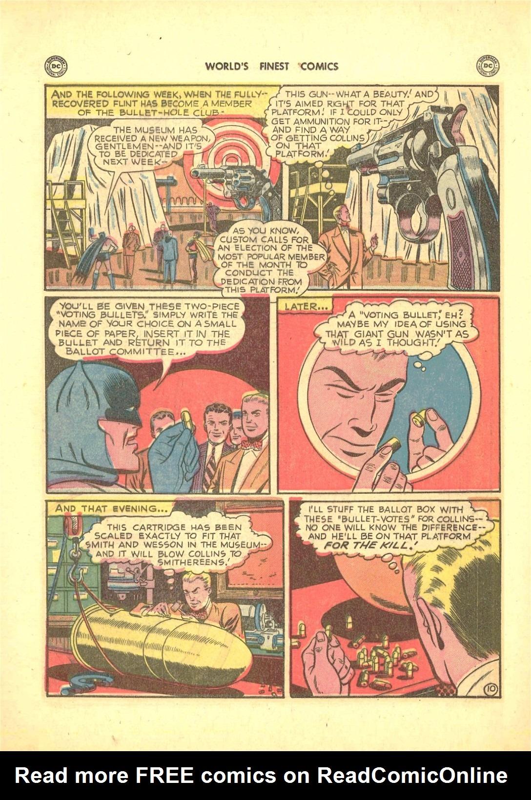Read online World's Finest Comics comic -  Issue #50 - 72