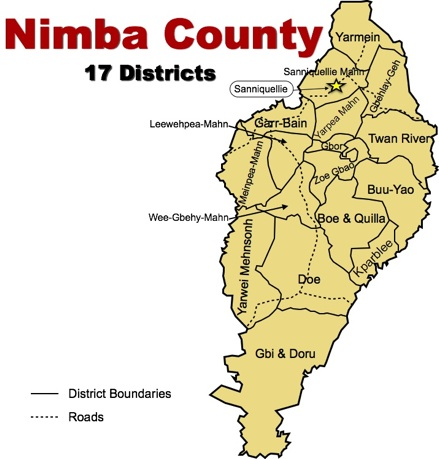 Image result for Nimba County