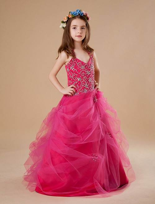 Little Girl Formal Dresses Pageant Dresses For Girls
