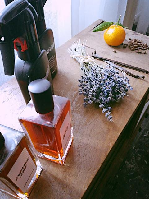 Az illatok hozzávalói