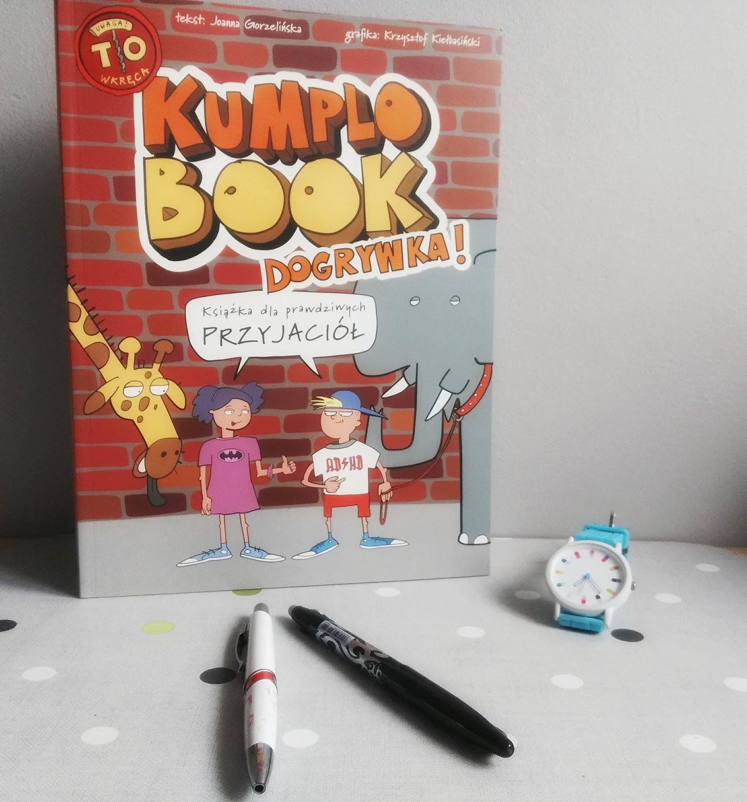 KumploBook - Dogrywka - książka dla prawdziwych przyjaciół  - recenzja
