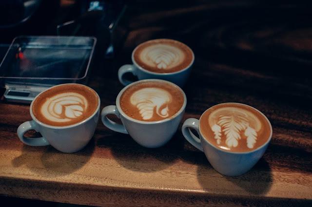 Concours Latte Art - Maelstrom Café