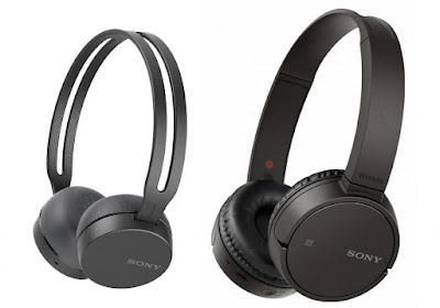 Sony WH-CH400 and WH-CH500 headphones