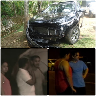 Yoshitha Rajapaksa's GF Yohana Ratwatte Meets With Accident