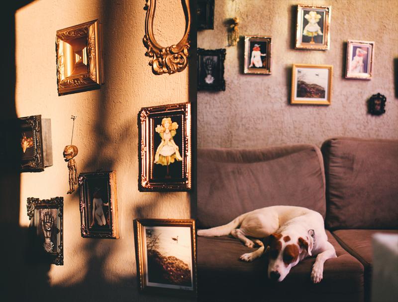 gallery wall art decor room sala decoração