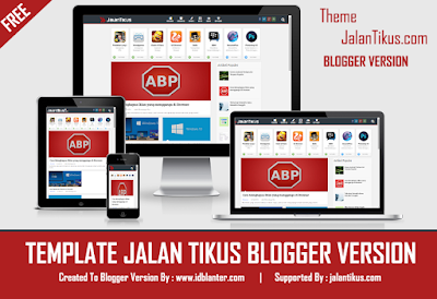 Template Jalan Tikus Blogger Version