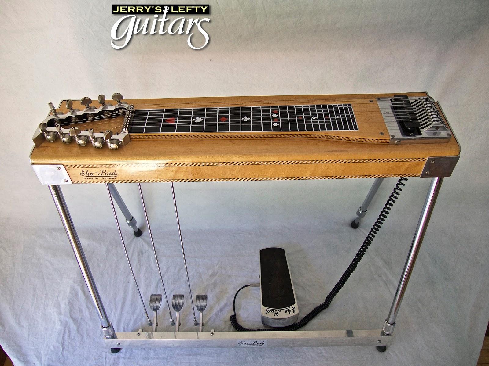 jerry 39 s lefty guitars newest guitar arrivals updated weekly 1971 sho bud pedal steel left. Black Bedroom Furniture Sets. Home Design Ideas
