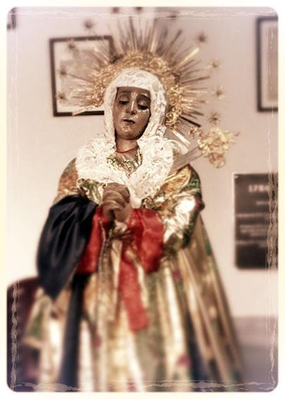 Imagen de Nuestra Señora de los Dolores del Cerro.