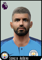 "PES 6 Faces Sergio ""Kun"" Agüero by Dewatupai"
