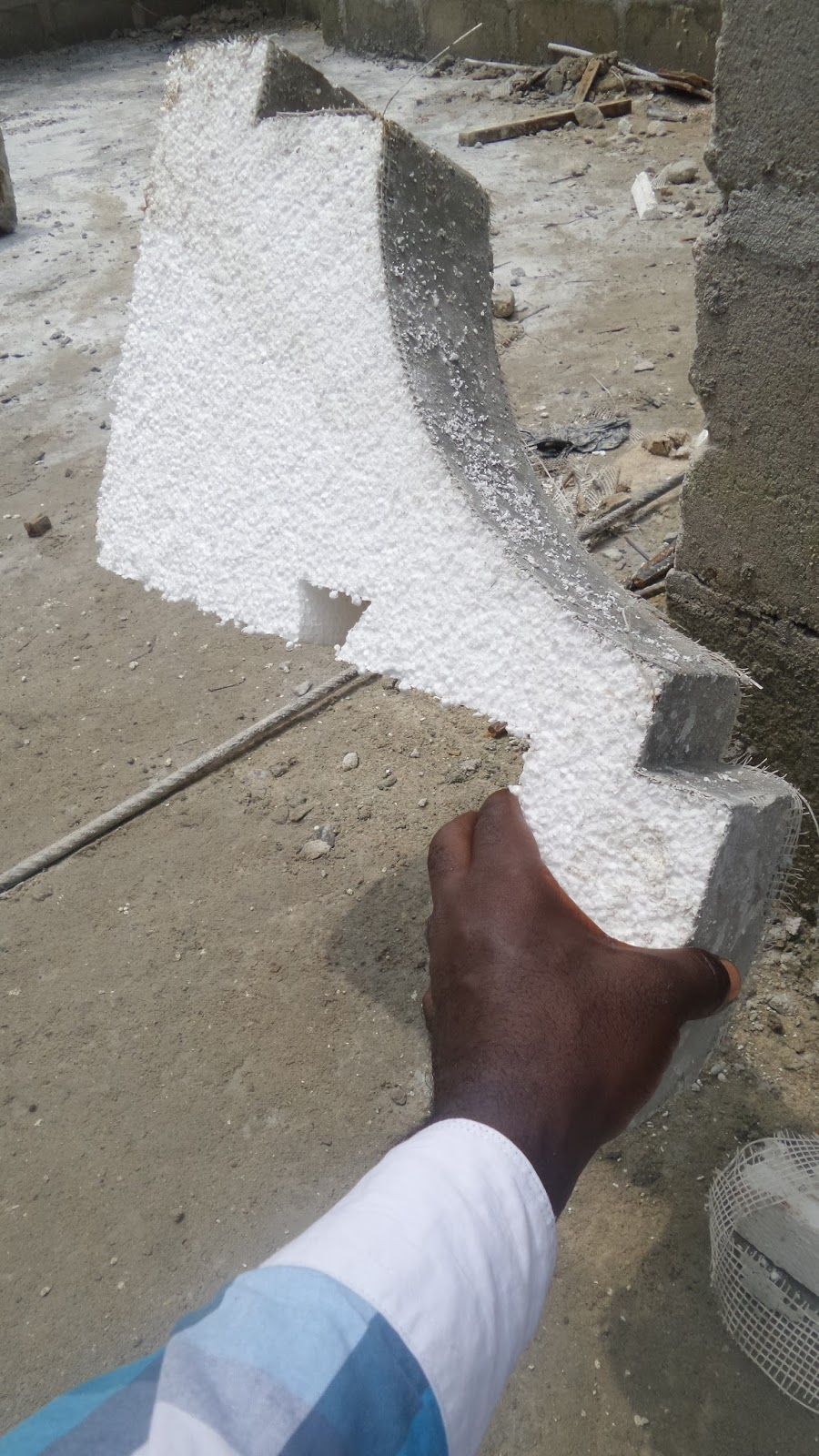 A comparison between polystyrene pre cast and concrete parapet fascia
