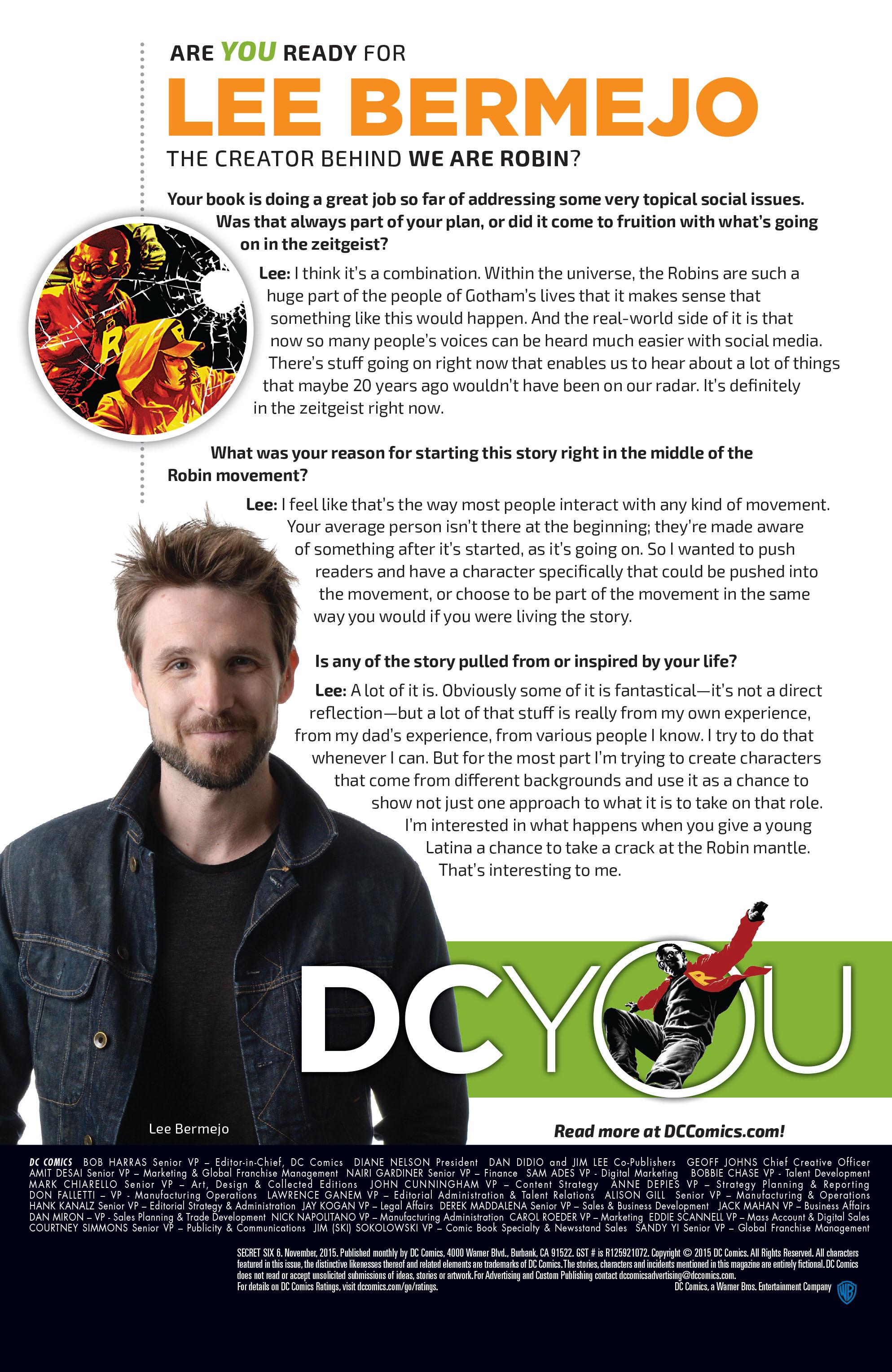 Read online Secret Six (2015) comic -  Issue #6 - 24