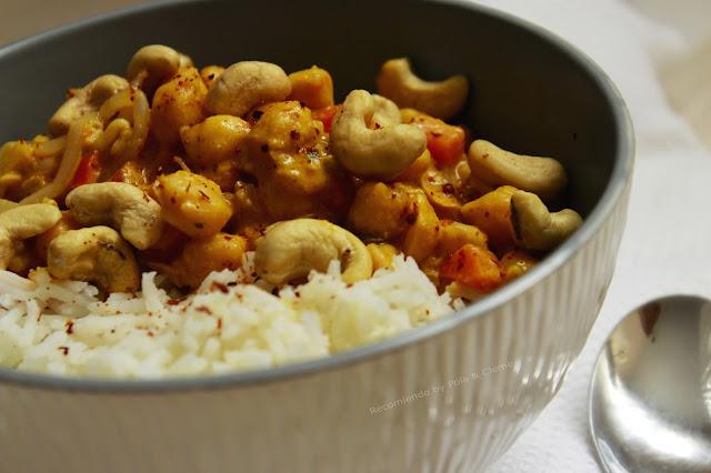 Receta de Garbanzos al Curry.  Receta de los mejores Garbanzos. Receta fácil y deliciosa.