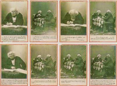 La primera fotoentrevista, 1886 de Nadar