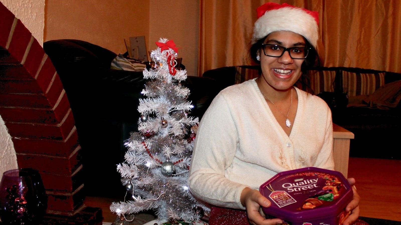 Quality Street Chocolates On Christmas