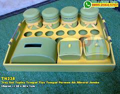 Tray Set Toples Tempat Tisu Tempat Permen Air Mineral Jumbo