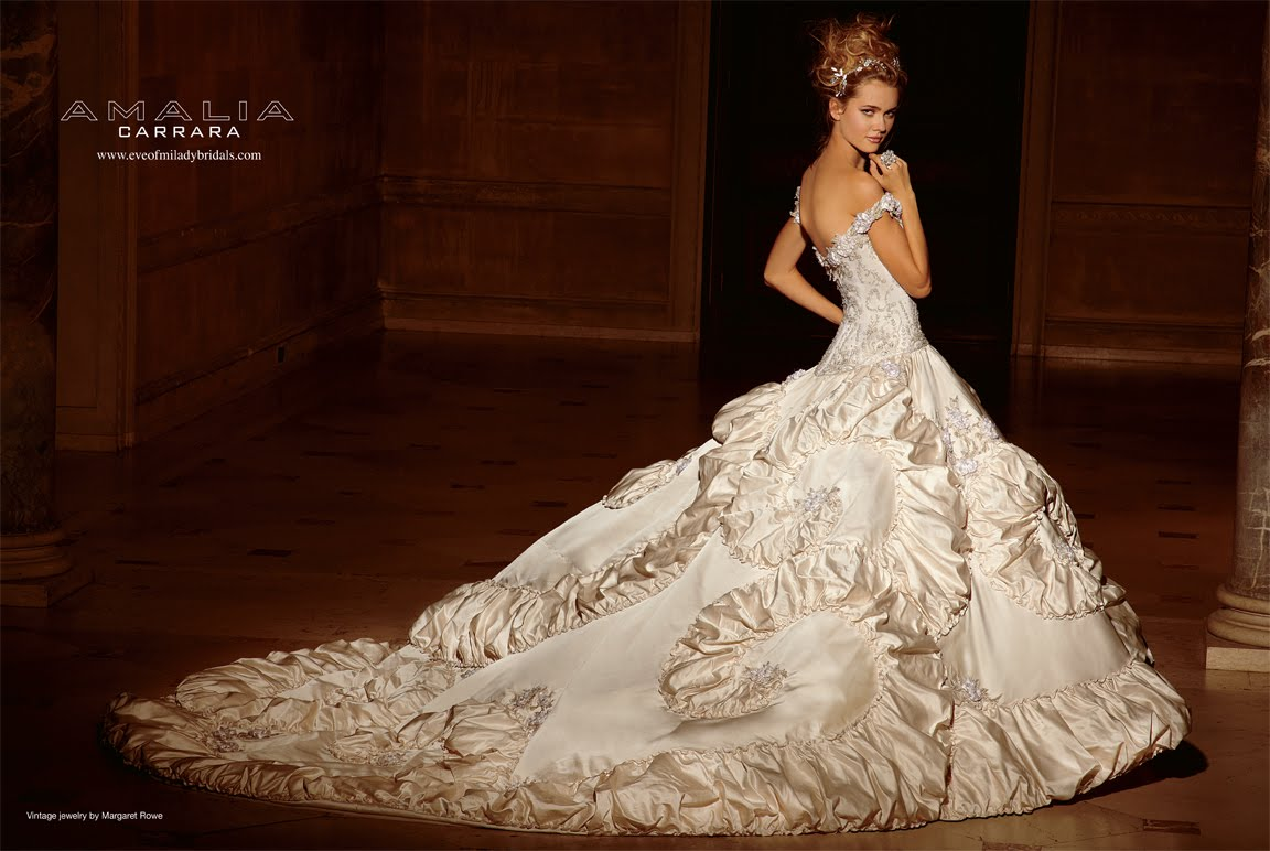 Fairy Tale Fashions (3): Luxe Wedding Dresses