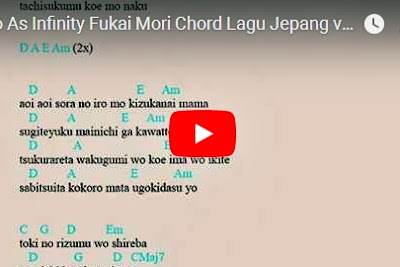 Download Youtube Video Do As infinity Fukai Mori Chord Lagu Jepang MP4