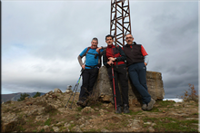 Asentsiomendi mendiaren gailurra 689 m. -- 2016ko azaroaren 20an