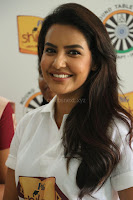 Actress Priya Anand in T Shirt with Students of Shiksha Movement Events 26.jpg