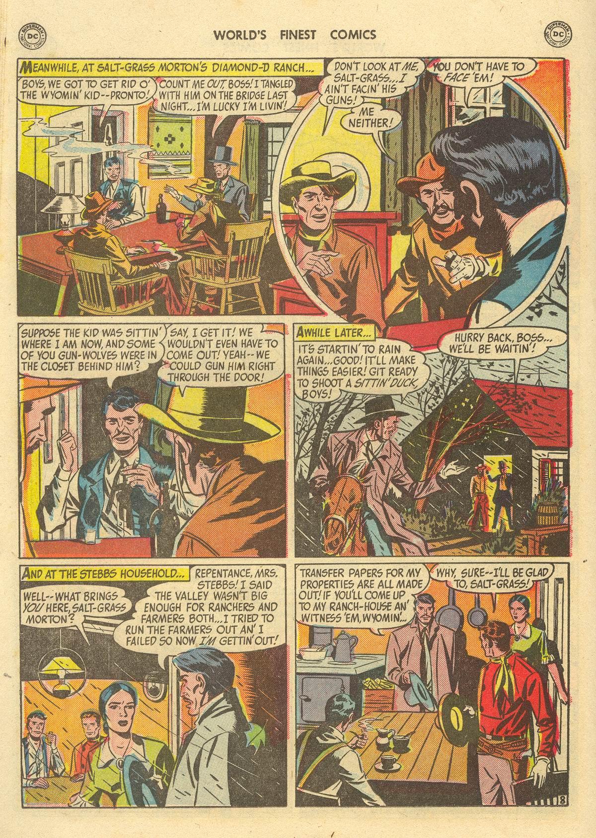 Read online World's Finest Comics comic -  Issue #51 - 50