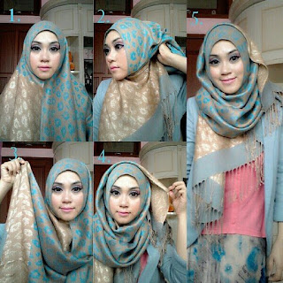 Pengertian dan Tutorial Hijab Pashmina Simple