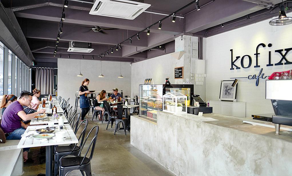 kofix cafe @ pandan indah