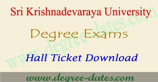 Sk University Degree Hall Tickets 2018 Sku Ug Exam Results Degree Result 2019