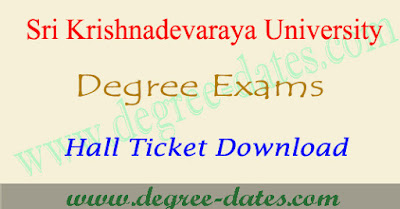 SK University degree hall tickets 2017 sku ug exam results