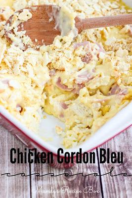 Chicken Cordon Bleu Casserole | Mandy's Recipe Box