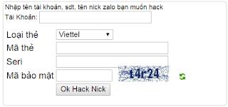 zalo hack