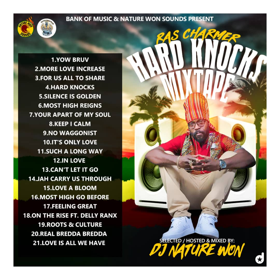 Reggae Mixtape]:- DJ NATURE WON - RAS CHARMER Hard Knocks