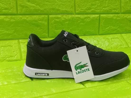 LACOSTE Sneakers for Men & Women (Black)