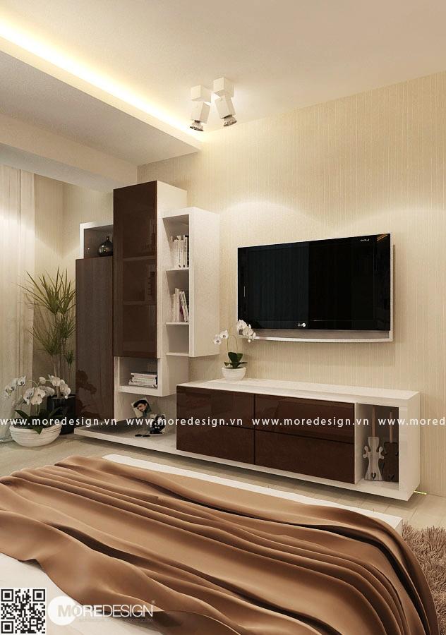 Mẫu kệ tivi hiện đại đẹp cho không gian phòng ngủ