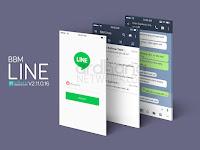 BBM MOD Line Reborn V2.12.0.9 Apk Terbaru