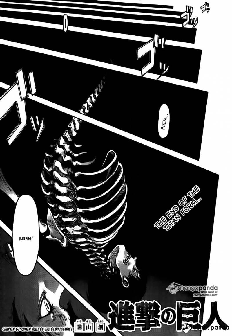 Shingeki no Kyojin   Ch 67