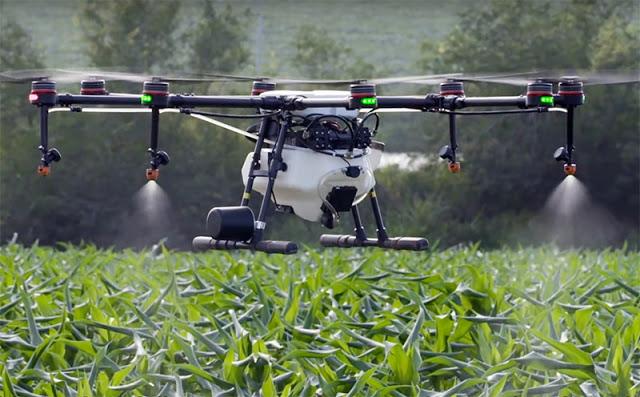 Использование квадрокоптеров (БПЛА) в сельском хозяйстве: пример Китая!