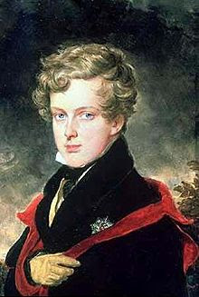 Portrait of Napoleon II as a boy