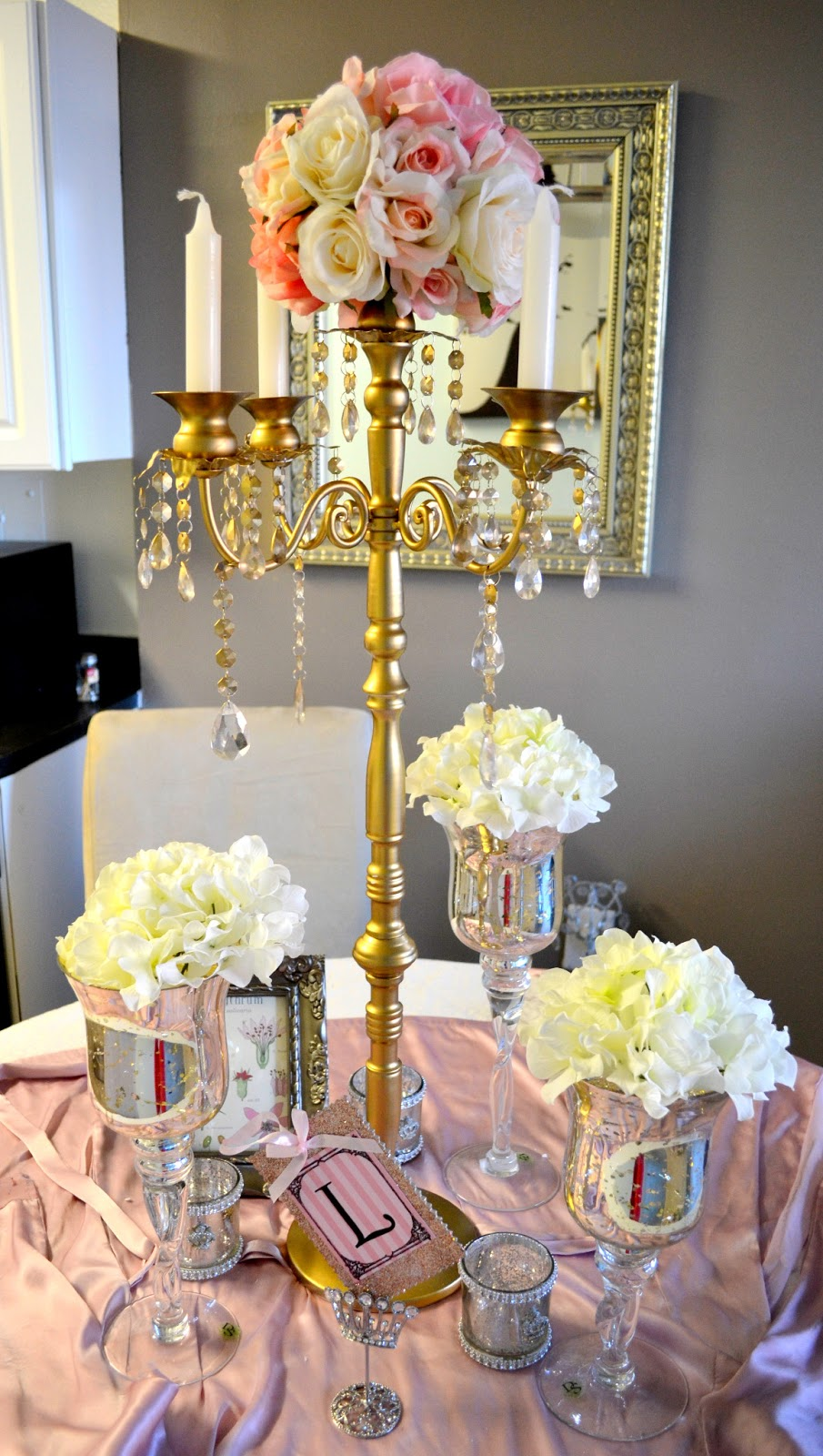 The Rose Colored Aisle Diy How To Make Your Own Gold